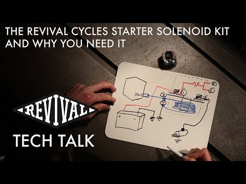 Revival Cycles Tech Talk - The Revival Starter Solenoid Kit