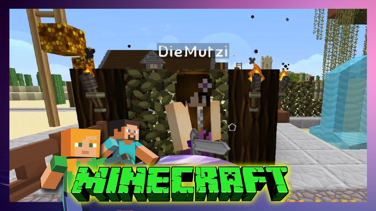 Minecraft Friends Schneckball Ist Da Lets Play - Minecraft fruhere version spielen
