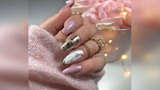 Красивый и нежный маникюр на каждый день Дизайн ногтей Beautiful manicure for every day