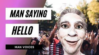 Cómo Un Hombre Diciendo Hola - Efecto De Sonido - Video