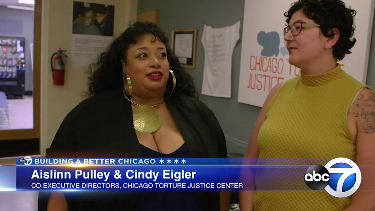 White On Black Crime: Police torture victims gather together at Chicago Torture Justice Center