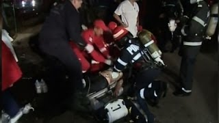 Raw: At Least 27 Dead in Romanian Club Explosion