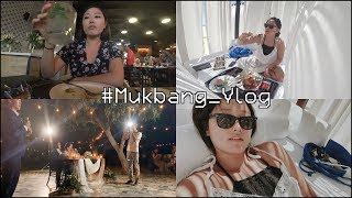 HOW TO RELAX...♥ Last Vlog in MEXICO - Fish Sandwich, Sushi + and more TACOS&SEAFOOD!