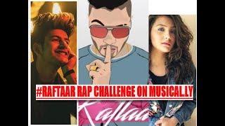 Raftaar Rap Challenge On Musical.ly / Swag Mera Desi Hai/ EkSaans Mh/Rap God/ India/ Stars Reaction