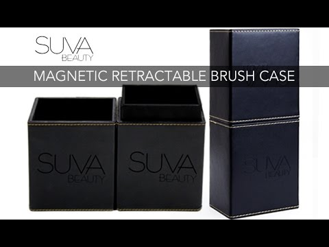 SUVA Beauty Magnetic Retractable Brush Case
