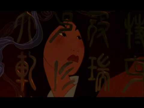 Mulan - Short Hair | soundtrack: Mulan goes to war