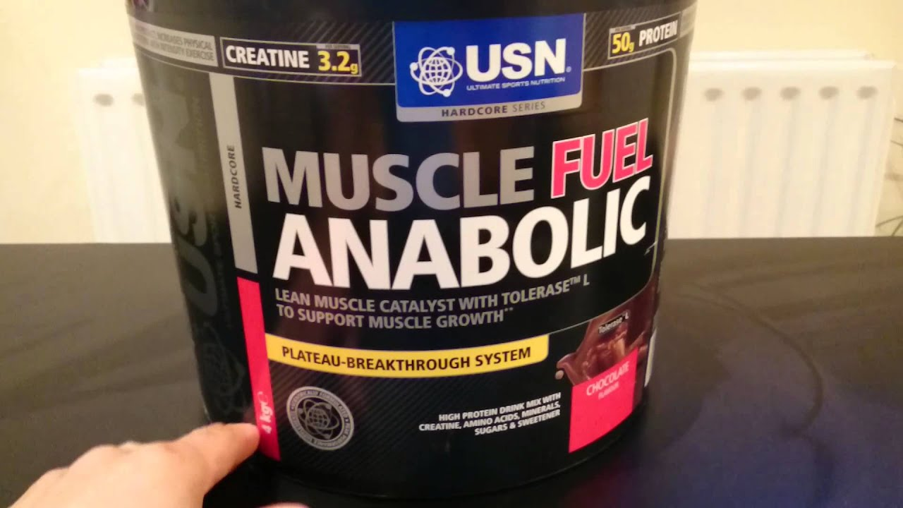 usn muscle fuel anabolic chocolate 2kg
