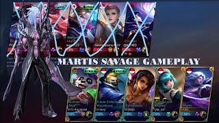 Mobile Legends - Martis Savage   Top Global Martis