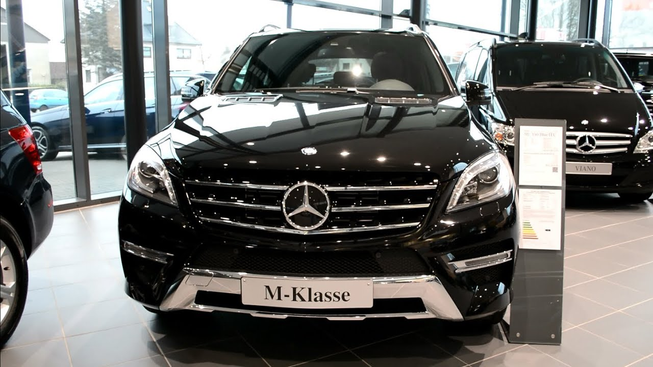 2014 New Mercedes Benz M-Class W166 M-Klasse ML 350 BlueTEC - YouTube