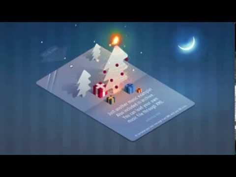 Pocket Christmas Card :: Animated Greeting ECards