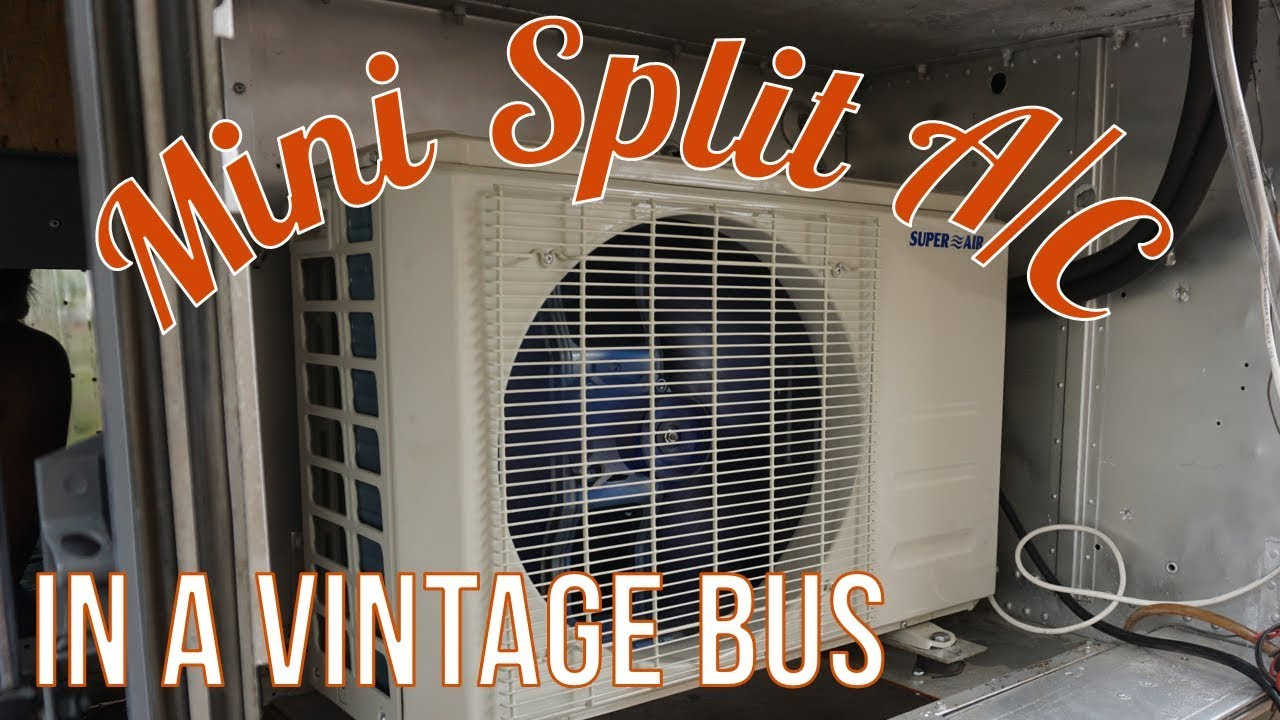 Mini Split Air Conditioner In An Rv Youtube