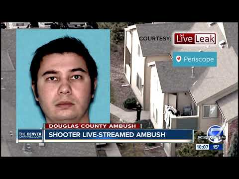 Colorado shooter live-streamed confrontation with law enforcement