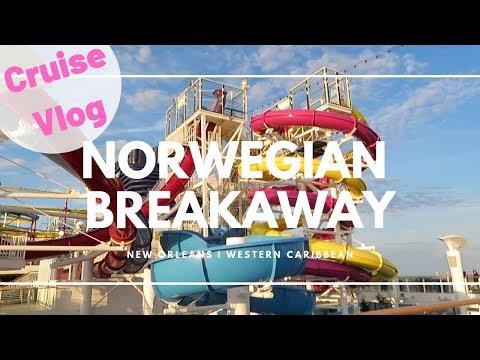 NORWEGIAN BREAKAWAY CRUISE VLOG | New Orleans | Western Caribbean