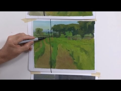 Landscape Painting Techniques – Design – DVD with Ian Roberts