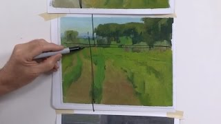 Landscape Painting Techniques - Design - DVD with Ian Roberts