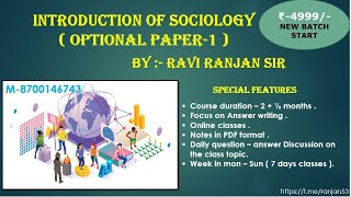 L-2 | sociology optional for u…