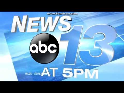 WLOS: News 13 At 5pm Open--09/25/15