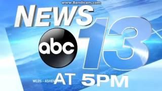 WLOS: News 13 At 5pm Open--09/25/15