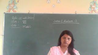 class vi music