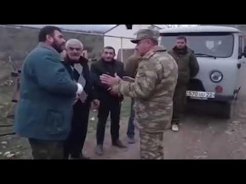Տները լքող արցախցիները ստիպված ադրբեջանցիներին են խնդրում, որ թույլ տան տանել իրերը