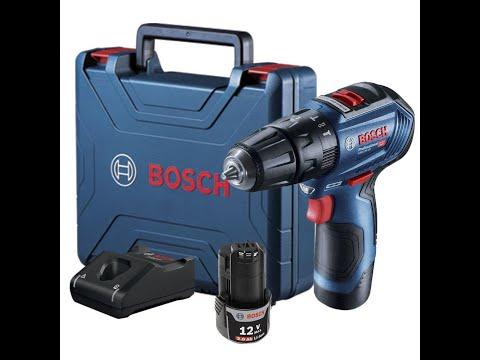 Atornillador , taladro y percutor Bosch GSB 12V 30