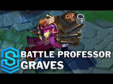 Battle Professor Graves Skin Spotlight - League of Legends
