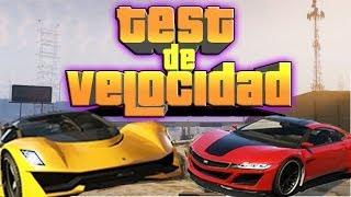 GTA V - Test de Velocidad - Turismo VS Jester - El coche mas rápido de GTA 5 - NexxuzHD