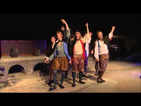 Welcome, Gentry - Ruddigore At The Minack Theatre 2012