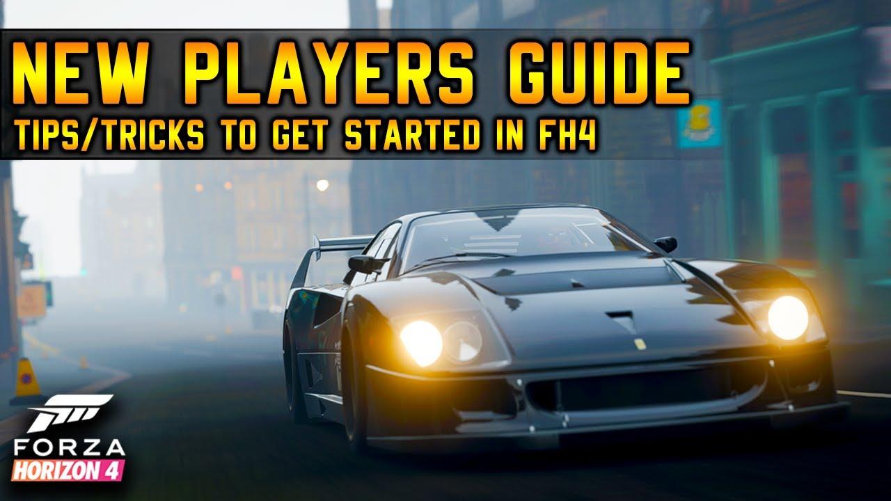 Forza Horizon 4 Beginner's Guide | Tips & Tricks
