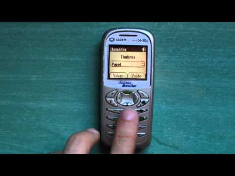 Sagem My x-2 (g) review (old ringtones, games & wallpapers)