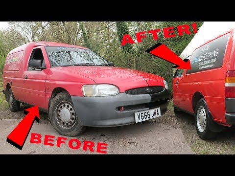 the-£100-half-restored,-scrap-yard-saved-ex-postal-van---2002-ford-escort-van-review