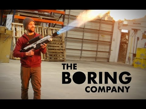 i built the boring company flamethrower youtube. Black Bedroom Furniture Sets. Home Design Ideas
