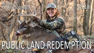 Chasing November S2E18: Public Land Redemption, Hunting Buck Beds