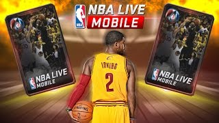 HUGE GAME 7 PACK OPENING + FIVE 90+ TOPPERS | EPIC 93 OVR PULL!!! NBA LIVE MOBILE PACK OPENING