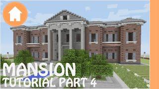 Minecraft Tutorial: How to Build a Mansion in Minecraft #4