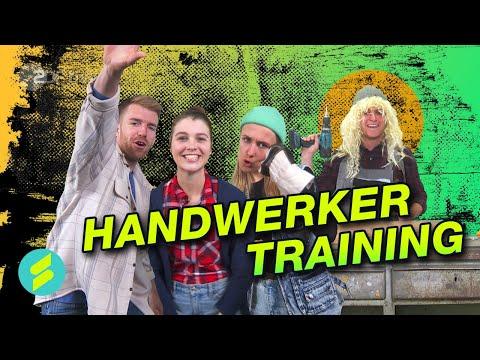 Die Sportmacher Challenge #26 – Handwerker Training   ZDFtivi