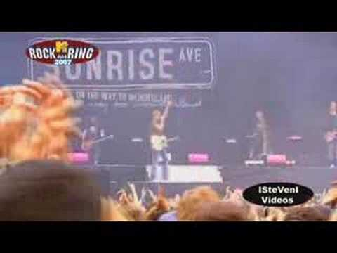 Sunrise Avenue - Destiny @ Rock am Ring 2007