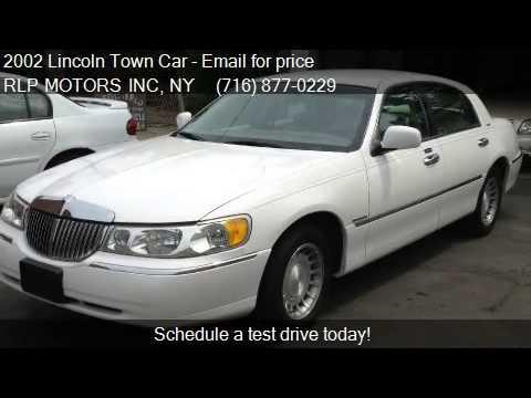 2002 Lincoln Town Car Executive 4dr Sedan For Sale In Buffal Youtube