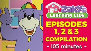 3 Episodes of Zaky's Learning Club (Compilation) - EP 1-3