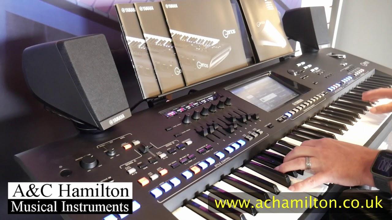 Yamaha Genos Style Mute Feature - A&C Hamilton