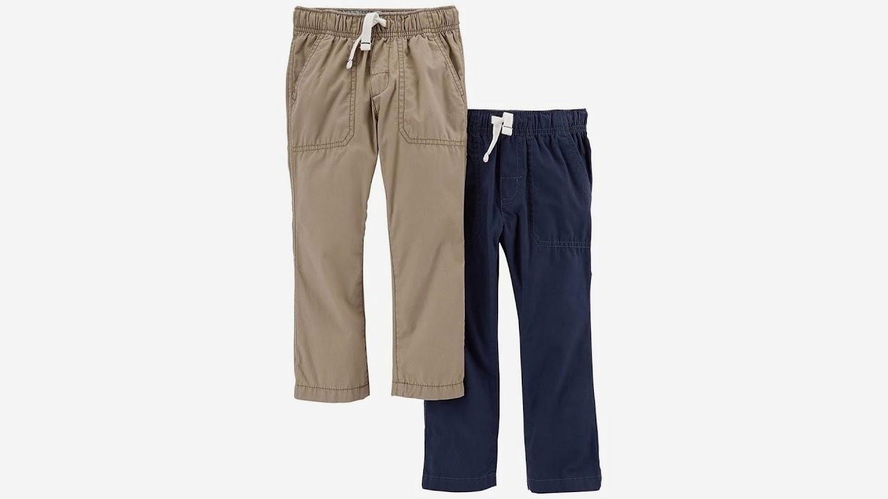 Carters Baby-boys Poplin Woven Pant