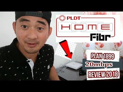 PLDT Home Fiber 1899 20mbps  review 2018