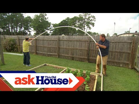 How to Build a High-Tunnel Greenhouse