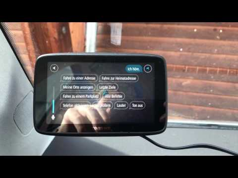 TomTom GO 520 World WiFi Test Deutsch
