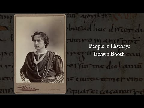 People in History: Edwin Booth