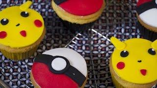 Cupcakes Pokemon Pikachu. Comment faire des cupcakes de Pokemon Go
