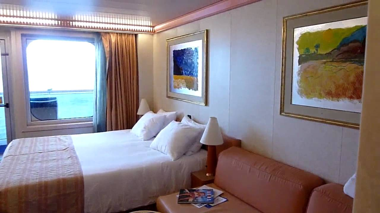 Carnival Conquest Stateroom 9294 Video Review Youtube