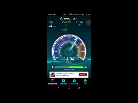 Jio Speedtest post Diwali 2017, 128kbps or 64kbps ?