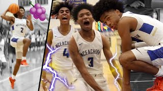 Sharife Cooper Drops 27 PTS in 19 MINUTES! + McEachern DROPS A HUNCHO!! WHOLE TEAM GOING CRAZY