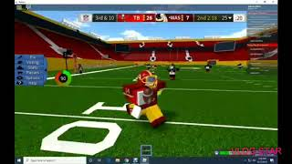 Im a Qb and a Wr! A mini legendary football montage - Kryptic Unknown ~ Celebrate | ROBLOX | LF